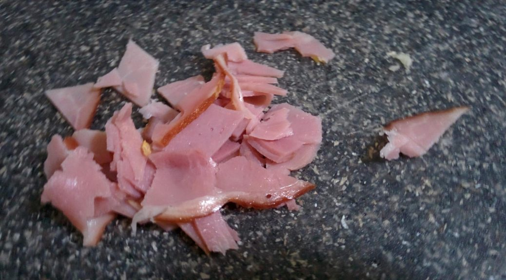 Sliced lunch meat!